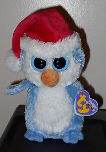 cf5214b9b5e Ty Beanie Boos ~ FAIRBANKS the Holiday Penguin 6