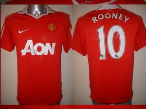 068444aea Manchester United ROONEY Jersey Shirt Adult S Soccer Football Nike ...