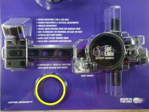 Spot Hogg Fast Eddie MRT Diameter NIP! Right Hand .019 Double Pin