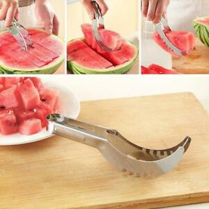 Stainless-Watermelon-Slicer-Divider-Corer-Cutter-Knif-amp-Melon-Scoop-Fruit-Tools