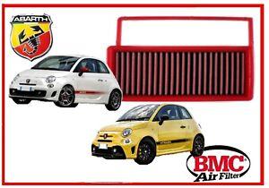 Filtro aria sportivo BMC Fiat Abarth 500 595 695 165 Hp T-jet tuning filtre kit