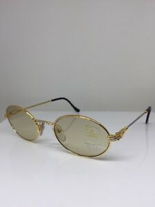 89c78deb3db0ac New Vintage FRED Lunettes Ketch Gold Bicolore C. 001 Sunglasses Made ...