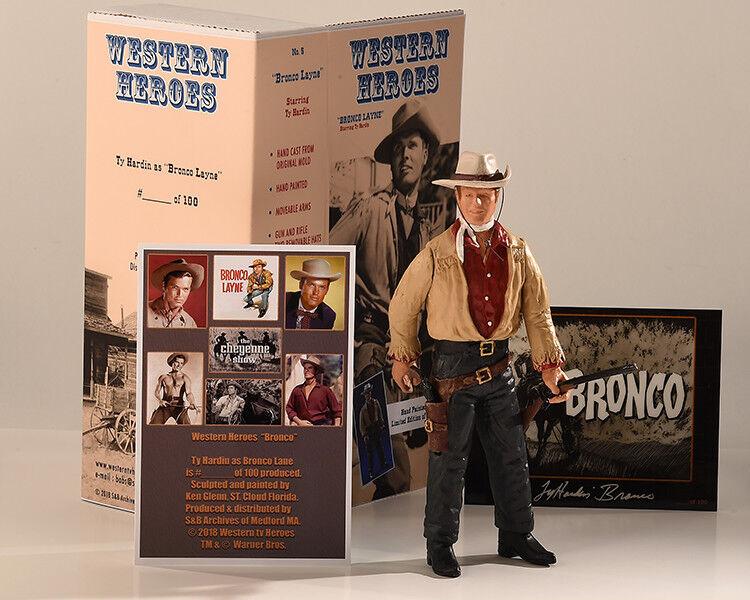 Bronco Layne .....Ty Hardin Limited edizione cifra  13....Hartle Collectors 240605