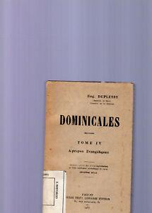 Audacieux Domicales - Eug.duplessy - 1937 Artisanat D'Art