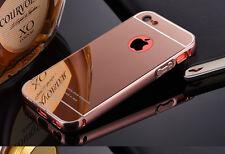TOP Luxury Shockproof Aluminum Metal Bumper + PC Mirror Case Cover For iPhone 5C