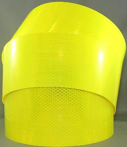 3M Fluoro Yellow Green (4083) Diamond Grade Class 1 Reflective Tape 100mm x 5m