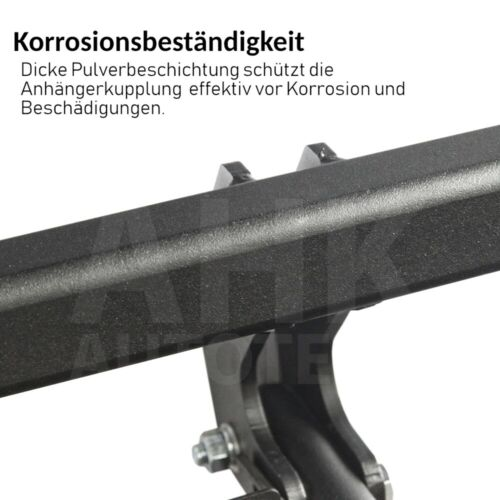 Für Volkswagen UP 5-Tür Anhängerkupplung starr für Fahrradträger ABE