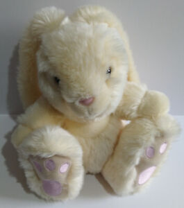 Cream-Sitting-Bunny-Rabbit-with-Floppy-Ears-Soft-Toy-Plush-Keel-Toys-Plse-Rd