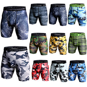 Men-039-s-Compression-Shorts-Running-Basketball-Gym-Short-Tights-Boxers-Wicking