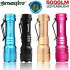 5000LM Súper Brillante CREE Q5 AA/14500 3 Mode CON ZOOM linterna flash LED luz