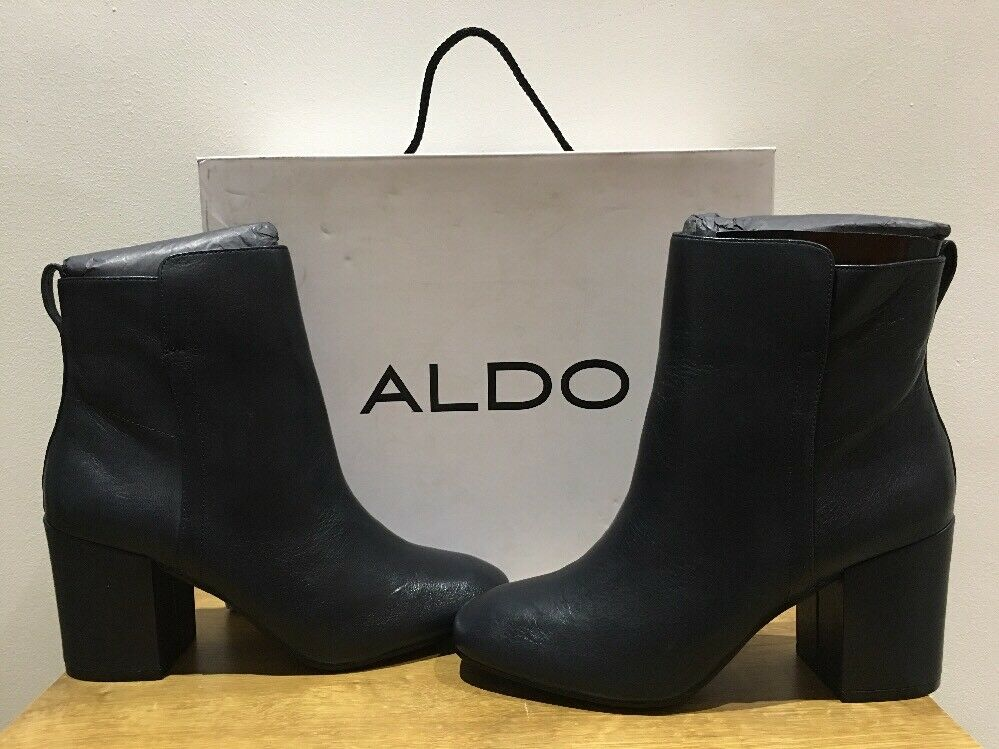 ALDO women's Quira ankle boots Blue/Medium blue FREE POSTAGE/UK SELLER