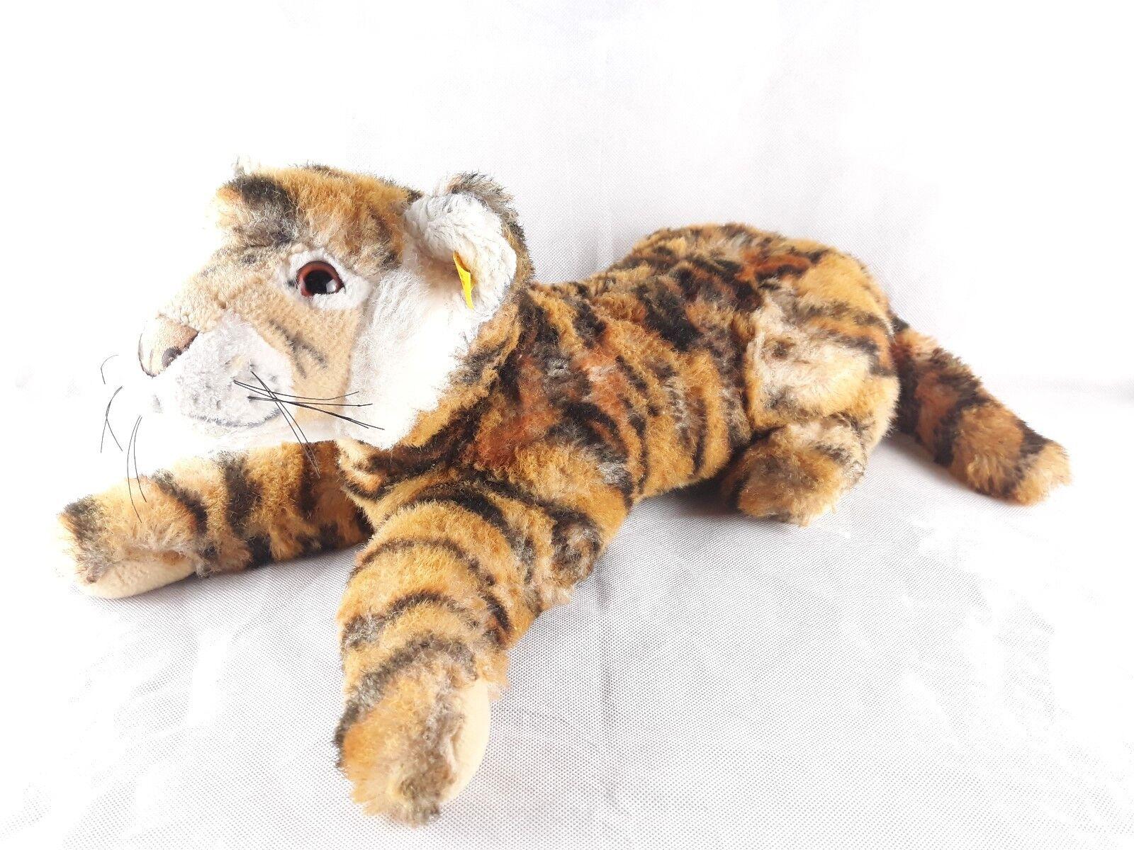 Steiff Tiger 066177 liegend ca. 45 cm