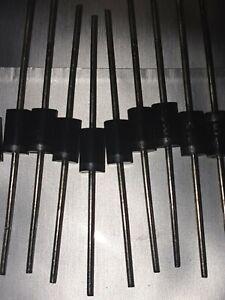 10Pcs SR5100 SB5100 5100 100V 5A DO-15 schottky diode 5A 100V sr5100