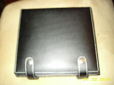Poker Set with 100 Chips in Leather Case RED, GREEN, BLACK AND BLUE, 2 SET CARDS