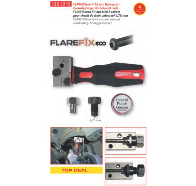 Ks Tools Flarefix Tubazione Del Freno Dispositivo Bordatura 4,75mm Din F