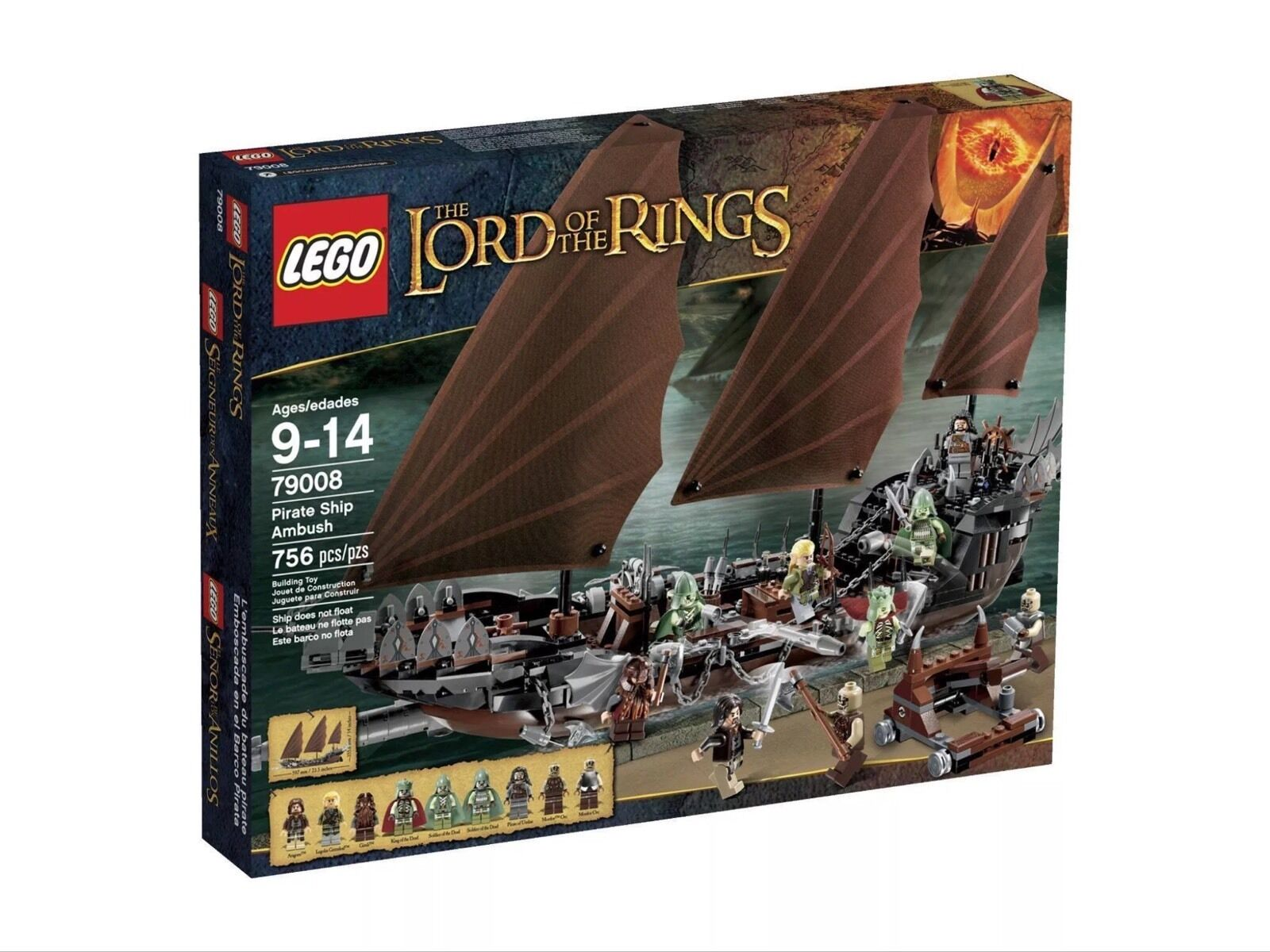 LEGO Lord of The Rings 79008 Pirate Ship Ambush New Sealed RetiROT