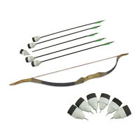 Archery Combat Tag Bow And Arrows Set Equipment-1 Bow+ 12 Foam Tipped Arrows