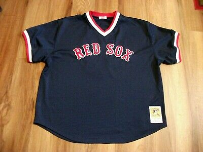 best service 45d45 173a5 VINTAGE BOSTON RED SOX MITCHELL & NESS TED WILLIAMS BASEBALL JERSEY SIZE  56,3XL | eBay