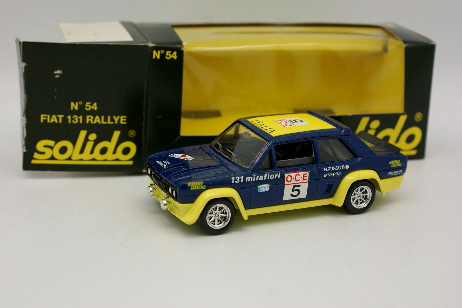 Solido Solido Solido 1 43 - Fiat 131 Rally from Mgoldcco 1976 54 79aa66