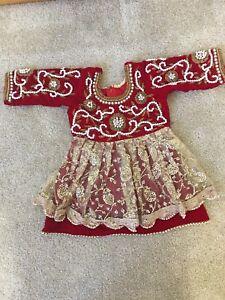 7d04de367 Red Pasni Set for girl/Baby Weaning dress/ Rice feeding Annaprashan ...