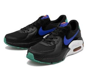 NIKE-AIR-MAX-EXCEE-Scarpe-Running-Uomo-Sneakers-BLACK-BLUE-GREEN-CD4165-002