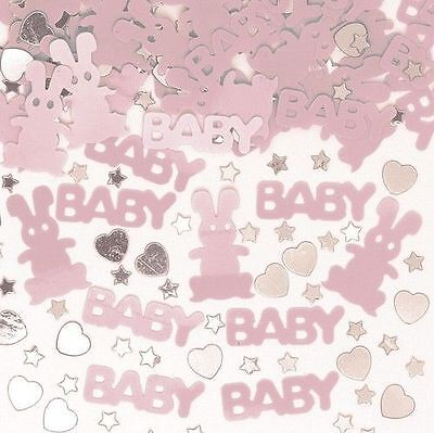 BABY SHOWER PARTY CONFETTI GIRL/BOY PINK, BLUE & MULTI PARTY DECORATIONS