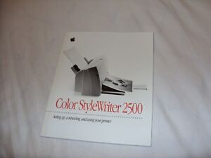 APPLE STYLEWRITER 2500 DRIVER PC