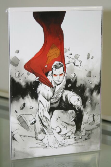 DC COMICS ACTION COMICS #1000 BLACK WHITE & RED VARIANT COVER
