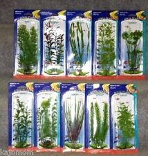 10 PENN PLAX AQUARIUM PLASTIC PLANTS FISH TANK LOT NEW BOXED FRESH SALT WATER