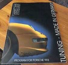 TECHART PROGRAM FOR PORSCHE 993  ORIGINAL