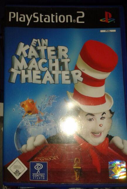 PlayStation 2 Sony - Spiel EIN KATER MACHT THEATER
