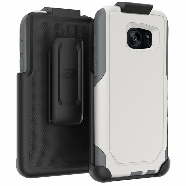 the best attitude 23a85 1d4f0 Encased Belt Clip Holster With OtterBox Commuter Case Glacier for Galaxy S7