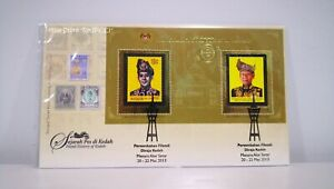MALAYSIA-Royal-Philatelic-Exhibition-Kedah-2013-Miniature-Sheet-FDC