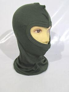 Genuine British Military Green Cold Weather Balaclava Headover Brand NEW