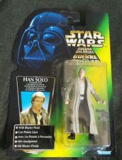 Star Wars POTF 2  HAN SOLO IN ENDOR GEAR 3.75 MOC 1996 RARE