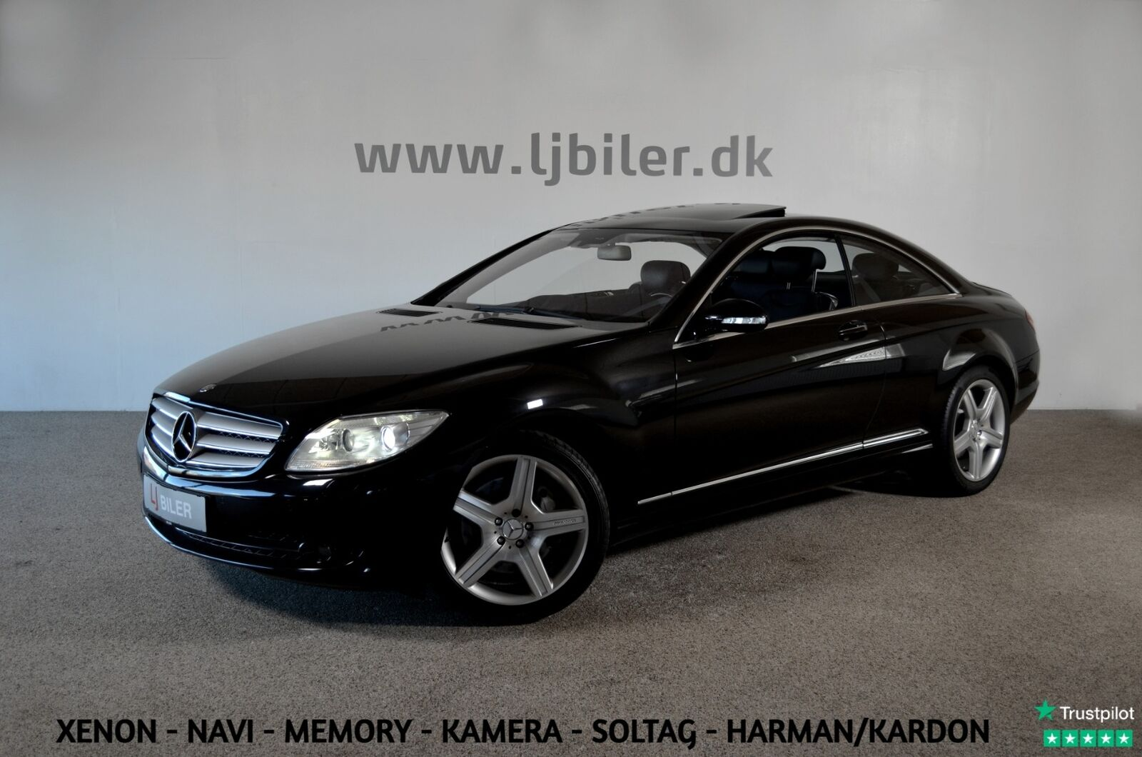 Mercedes CL500 5,5 V8 aut. 2d
