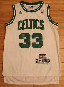 839d78e76b6 NWT Larry Bird  33 Boston Celtics Jersey ADIDAS RARE NBA HARDWOOD ...