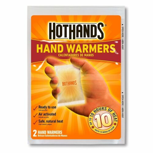 Hot Hands Hand Warmers Long Heat Up to 10 Hours 20 Pairs 40 Warmers Heater