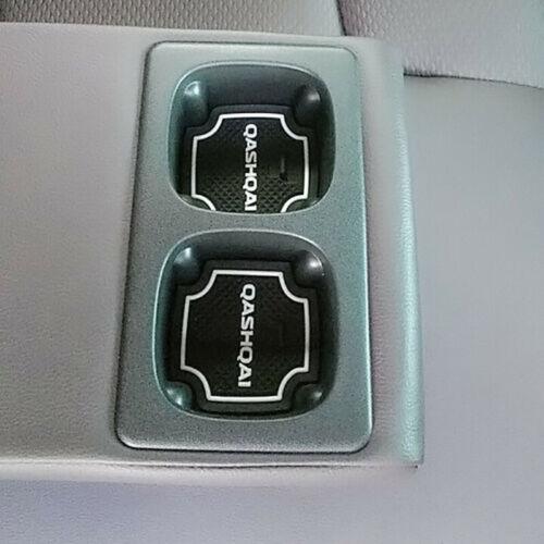 18 Stück Interieur Gummimatten Antirutsch Matten für Nissan Qashqai J11 ab 16-19