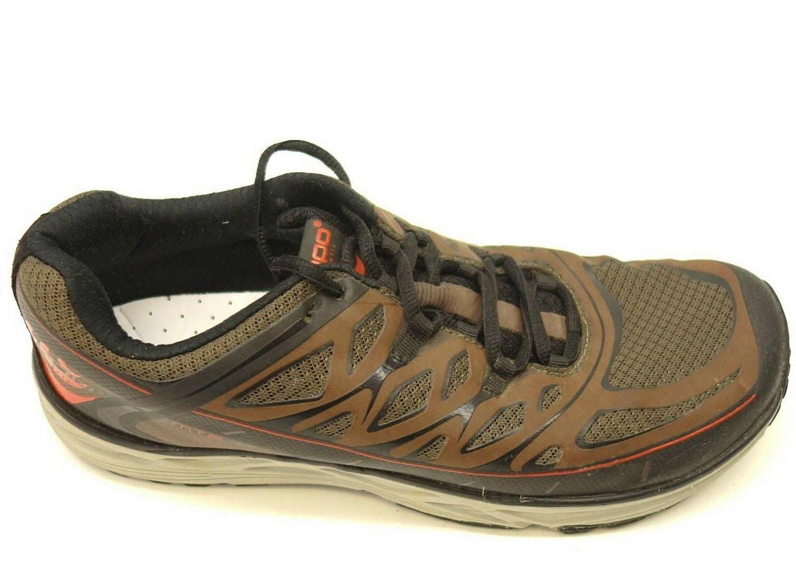 Topo MT 2 Marronee Sz  9.5 Athletic Road Running scarpe Trail Mens scarpe da ginnastica  tempo libero