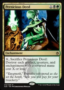 Pernicious-Deed-x1-Magic-the-Gathering-1x-Masters-25-mtg-card