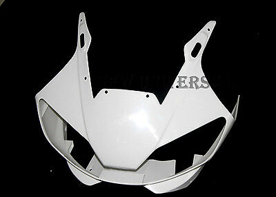 ABS Unpainted Headlight Head Nose Front Fairing For 1998-2002 Yamaha R6