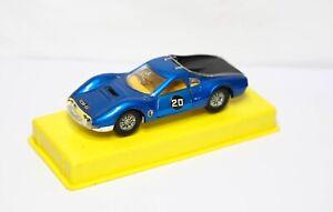 DINKY 216 Dino Ferrari Auto Da Corsa sul suo ORIGINALE plinto-Quasi Nuovo Vintage