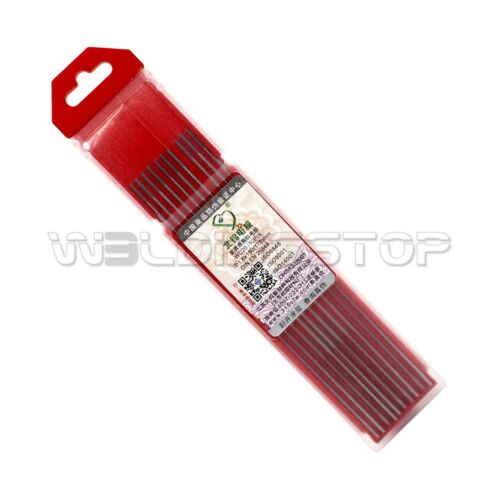 """1.6X150mm 1//16/""""X6/"""" Ceriated Tungsten Electrode Grey for WC20 TIG Weld Qty-10"""