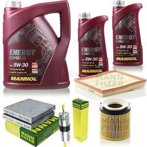 Motor-oil-7L-MANNOL-5W-30-Combi-Ll-Mann-Filter-Air-Filter-For-BMW-X3