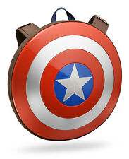 Marvel Captain America Hard Plastic Shield Backpack