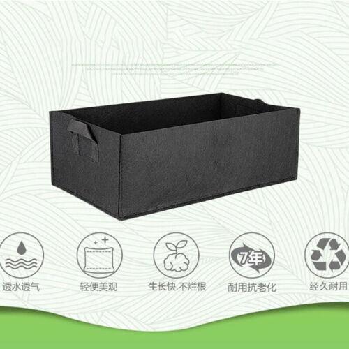 Square Fabric Grow Bag Pot Bags Veg tomato Garden Planting Bags With Handles