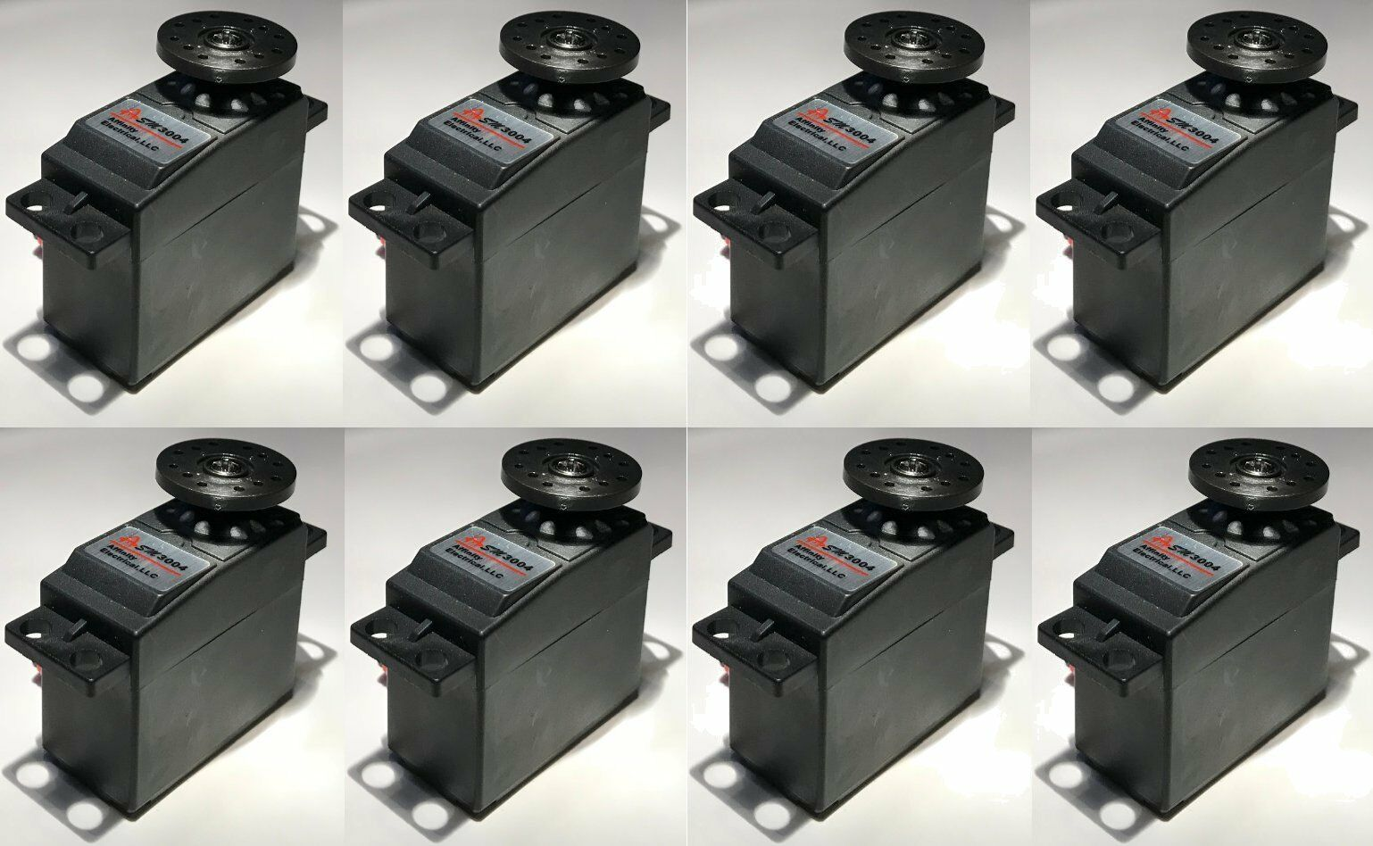 8 nyA servomotorer Futaba S3004 S3151 sim.till Hobico, Horizon Hobby, Hitec, DJI