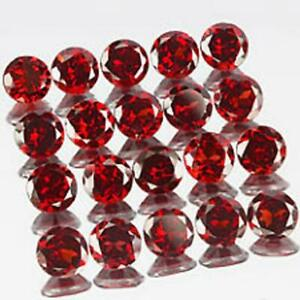 Wholesale Lot 9x11mm Oval Facet Cut Natural Red Garnet Calibrated Loose Gemstone