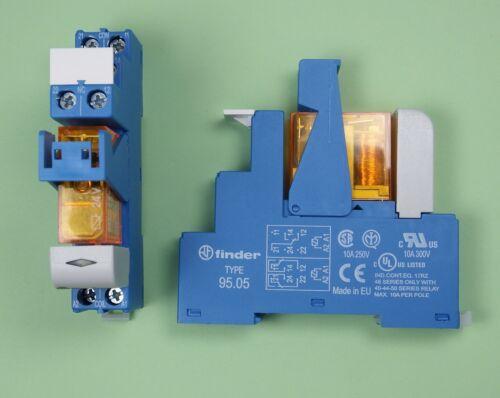 48.61.8.024.0060 Finder Industrie Koppel Relais 24V AC 1 Wechsler 16A